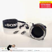 Porta Lentes Suporte 2 Em 1 Para Lente Sony Montagem E    Nc
