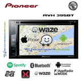 Radio Pioneer Avh-x395bt Spotify Mixtrax Bluetooth 2017