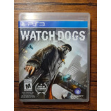 En Venta Watch Dogs Playstation 3 Ps3 Excelente Estado !!