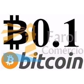 Bitcoin 0.1 Btc - Faça Sua Cotação Aqui Envio No Mesmo Dia
