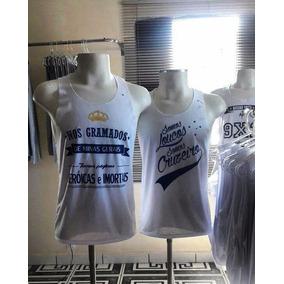 Camiseta Do Cruzeiro - Futebol Regata - Mammuth