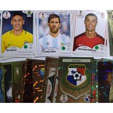 Neymar, Cristiano Ronaldo, Messi Figurinhas Da Copa 2018