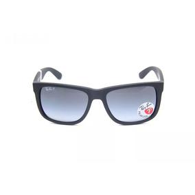 Ray Ban Justin Wayfarer 4165 Lentes Polarizadas Brinde - Óculos De ... 81b48ac324