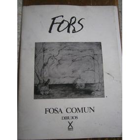 Jose Fors Fosa Comun Carpeta De Dibujos Mexico 1983 Cuca