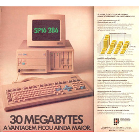 Computador Prológica (clone Nacional Do Ibm Pc-xt E At 286)