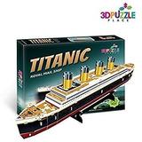 Juego Puzzle 3d Titanic Barco Buque Correo Real (marina De