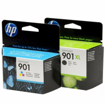 Cc656ab Cc654ab Cart. Hp 901xl Black 901 Color Vencidos Orig