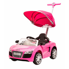 Montable Push Car Audi (rosa Blanco Plata)