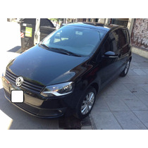 Volkswagen Fox Highlan Automático Color Negro 44000km Real