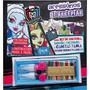 Livro Brinquedo Ilustrado Monster High Aces.de Arrepiar Dcl