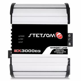 Amplificador Stetsom Potencia Ex3000 2 Ohms 3000w Rms