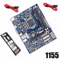 Placa Mae Chipset Intel - H61h2-m2 Ddr3 I3/i5/i7 C/ Espelho