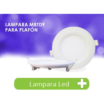 Panel Led Slim Empotrable Techo Spot 9w Lampara Foco Bf