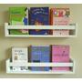 Prateleira Decorativa Livros 1pç 60x10x11 Mdf Promoção