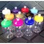 Tarro Pet 500 Ml Cristalino Con Tapa De Color A Escoger
