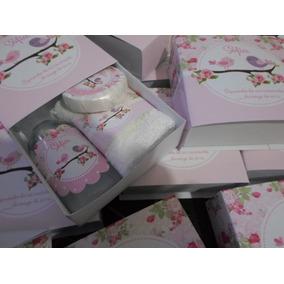 Souvenir Personalizado Set Caja+jabón+toalla+alcohol En Gel