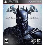 Batman Arkham Origins - Ps3 Juego Fisico Nuevo
