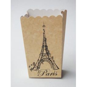 Dulcero Caja Paris Torre Eiffel Mesa Candy Bolsa Xv Vintage