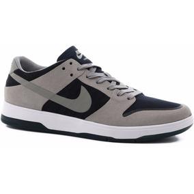 Zapatillas Nike Sb Zoom Dunk Low Elite Gris Azul Originales