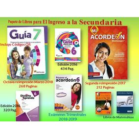 Paquete Ingreso A La Secundaria Guía 7, Mi Acordeón+exámenes
