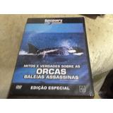 Dvd Mitos E Verdades Sobre As Orcas Baleias Assassinas