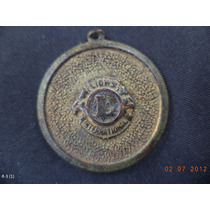 Medalla Conmemorativa Del Club De Leones