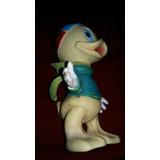 Antiguo Muñeco De Goma Louie Sobrino Del Pato Donal Disney