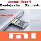 Tienda: Bandeja Sim Chip Xiaomi Note 3 4 5 Mi Re Garantizada