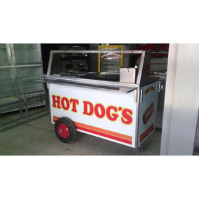 Carrito De Hot Dog´s, 150 De Largo
