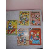 Historias De Walt Disney Años 70´s 5 Revistas +1 Gratis