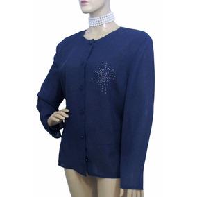 Camisa De Musseline Com Detalhe - Usada - Ótimo Estado
