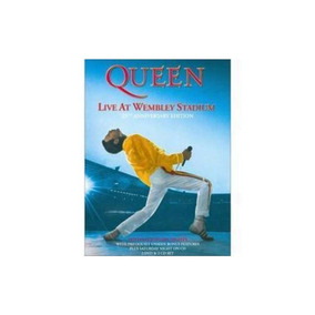 Queen Live At Wembley Stadium 25th Anniversary Dvd X 2 Novo