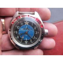 Relógio Russo Vostok Komandirskie Antimagnético Submarino