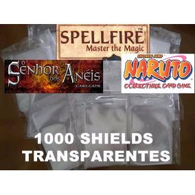 1000 Sleeve Shield Naruto Spellfire Card Senhor Dos Aneis