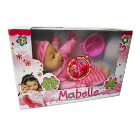 Juguetes Muñeca Mabelle Con 24 Sonidos Y Accesorios