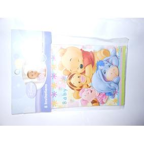 Invitaciones Para Fiesta Winnie Pooh