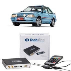 Receptor Tv Digital Full Hd Automotivo Ford Escort 1985...