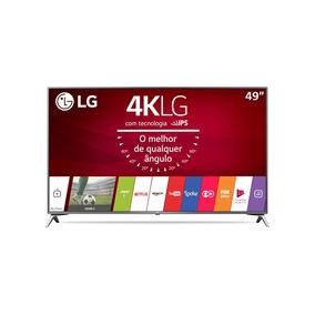 Smart Tv Lg Led 49 Ultra Hd 4k Hdr 49uj6525 Nova Somente Rj
