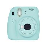 Cámara Fujifilm Instax Mini 9 Instantánea Azul Hielo Nueva