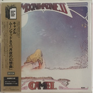 Cd Mini Lp - Camel - Moonmadness - Importado Japan Lacrado
