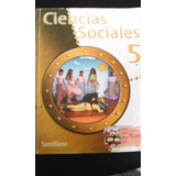 Libro Ciencias Sociales 5to Grado Editorial Santillana