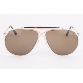 6eeb9d3a901f4 Tom Ford Margaux Dourado De Sol Outras Marcas - Óculos no Mercado ...