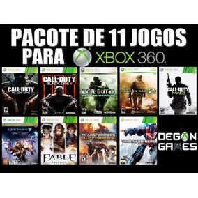 Jogos Xbox 360 - 11 Jogos Originais Midia Digital
