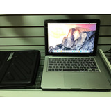 Macbook Pro 13 I5 8gb Hdd 500gb Impecable