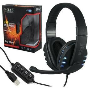 Fone Headset Fio Stereo Pc Xbox360 Ps3 Computador Microfone