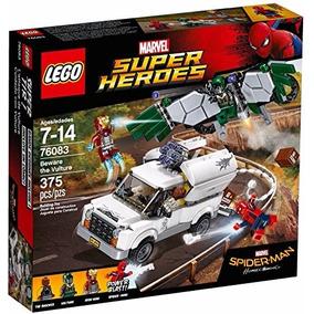 Lego 76083 Beware The Vulture Spiderman Iron Man Marvel