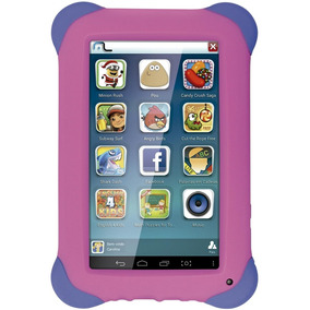 Tablet Multilaser Kid Pad Rosa, Quad Core, Android 4.4, Dual