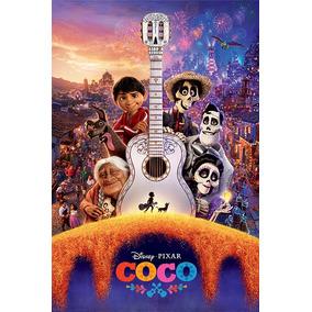 Coco - Guitarra - Poster Importado De 90 X 60 Cm
