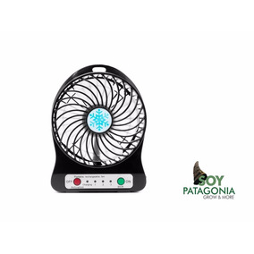 Ventilador Usb Recargable 3 Velocidades Soy Patagonia