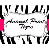 Kit Imprimible Candy Bar Animal Print Cebra Tigre Golosinas